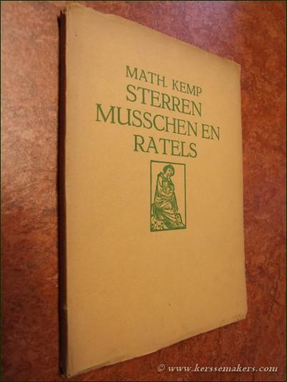 KEMP, MATH. - Sterren musschen en ratels.