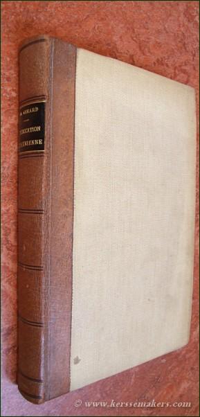 GIRARD, PAUL. - L'éducation Athénienne. Au Ve et au IVe siècle avant J.-C. Ouvrage couronné par l'académie des inscriptions et belles-lettres. Avec 30 figures dans le texte.
