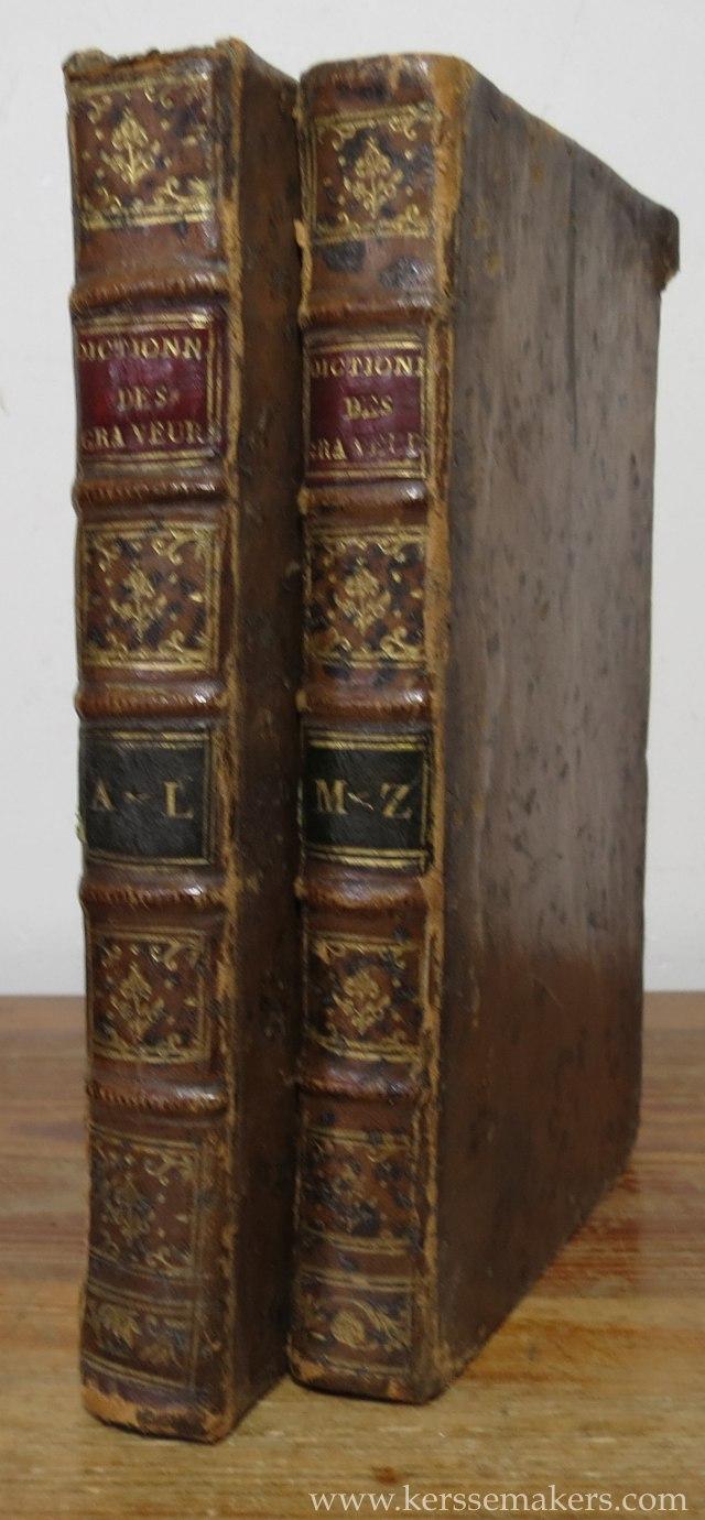 BASAN, F. - Dictionnaire des graveurs anciens et modernes depuis l 'origine de la gravure. 2nde édition.