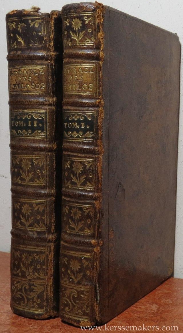 (GUYON), - L'oracle des nouveaux philosophes, pour servir de suite et d'éclaircissement aux oeuvres de Voltaire. And: Suite de l'oracle des nouveaux philosophes........