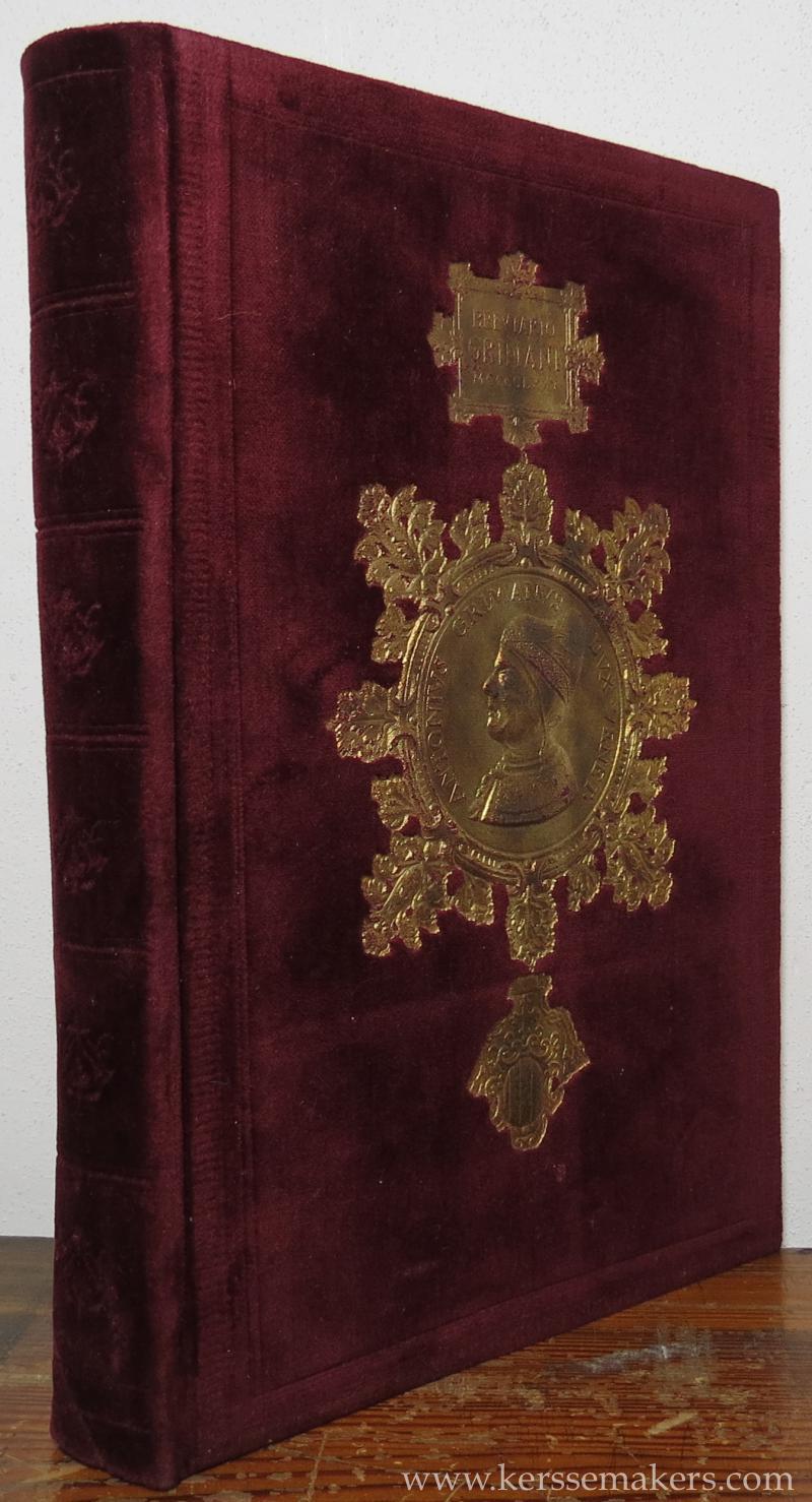 GRIMANI: - Le Bréviaire Grimani a la bibliothèque Marciana de Venise.