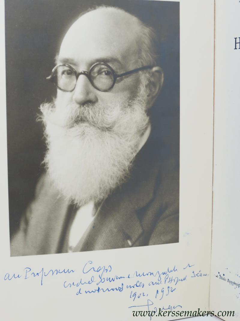 GOUGEROT, HENRI: - Hommage jubilaire au professeur Henri Gougerot. Hopital Saint-Louis. 18 Juillet 1952.