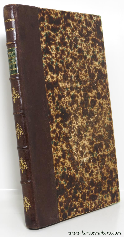 FUNCK-BRENTANO (ED.) - Annales Gandenses. Nouvelle édition par Frantz Funck-Brentano.