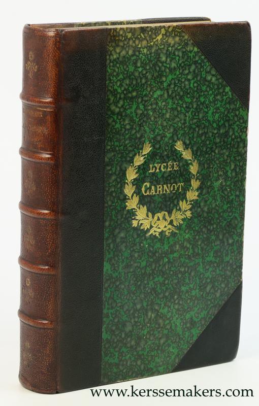GRIMAUX, EDOUARD - Lavoisier 1743-1794 d'après sa correspondance, ses manuscrits, ses papiers de famille et d'autres documents inédits. Deuxième édition.