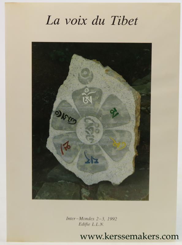 GOETGHEBEUR, FRANS (ED.). - La voix du Tibet. Inter-Mondes, 1992, 2-3.