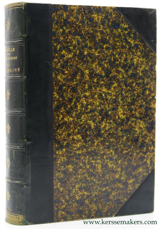 Old Nick, Grandville - Petites misères de la vie humaine par Grandville. Texte par Old Nick (P. E. Daurand-Forgues). Nouvelle édition augmentée de nombreuses vignettes, têtes de pages, culs-de-lampe, etc.