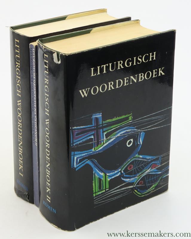 BRINKHOFF, L. (ED.) - Liturgisch woordenboek. [ 2 volumes & supplement ].